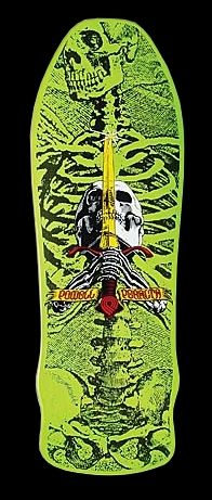 Powell Peralta Skull n Sword deck c. 1987