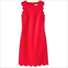 Spring Fashion Trends — Flame: J.Crew Dress