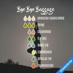 Bye Bye Baggage - Essential Oil Diffuser Blend
