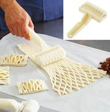 high Quality Small Size Plastic Baking Tool Cookie Pie Pizza Pastry Lattice Roller Cutter Craft kitchen accessories(China)