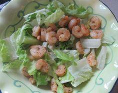 HCG Diet Phase 2 Recipe - Grilled Shrimp Salad