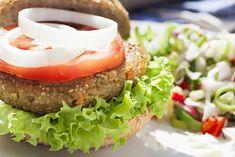 Recipe for Quinoa Lentil Burger.