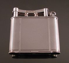 Vintage Dunhill Cigarette Lighter w/Compact Minty Must See This