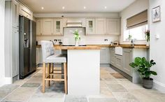 #kitchen #island #breakfastisland #tiles