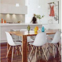 sala de janta com cadeiras designer - Pesquisa Google
