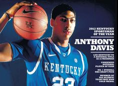Anthony Davis was named the 2012 Lexington Herald-Leader Kentucky Sportsman of the Year. Get this special poster page of him in the Feb. 1, 2013 Herald-Leader.