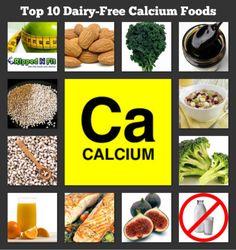 Top10 Dairy-Free Calcium-Foods #RippedNFit