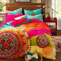 Bohemia winter Comforter Cover Set Queen Size bedding set - USD $53.99 ! HOT Product! A hot product at an incredible low price is now on sale! Come check it out along with other items like this. Get great discounts, earn Rewards and much more each time you shop with us!