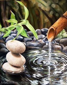 Zen Wallpaper, Stone Wallpaper, Beautiful Nature Wallpaper, Relaxing Pictures, Zen Pictures, Pretty Pictures, Massage Room, Zen Art, Diy Arts And Crafts