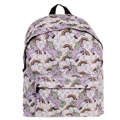Established in Blue Banana is the home of essential alternative & emo clothing. Colorful Backpacks, Unicorn Print, Uk Fashion, Body Piercing, Backpack Bags, Heart Shapes, Blue Banana, Rainbow, Polyvore
