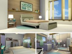 The Sims Resource: Beach Life house by Lhonna