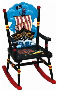 Pirate Rocking Chair!