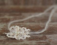 Baby Headband Tie Back Headband Photography Prop by SmallandLovely