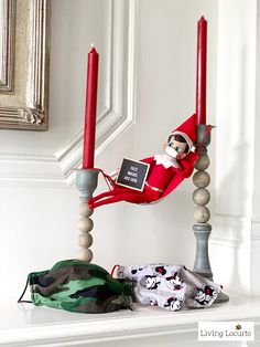 Creative Elf on the Shelf ideas to keep your kids entertained while stuck at home during the quarantine. Christmas Holidays, Christmas Crafts, Christmas Decorations, Outdoor Decorations, Elf Letters, Awesome Elf On The Shelf Ideas, Elf On The Self, Buddy The Elf, Naughty Elf