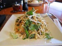 Chicken pad thai from Big Bowl- YUM!