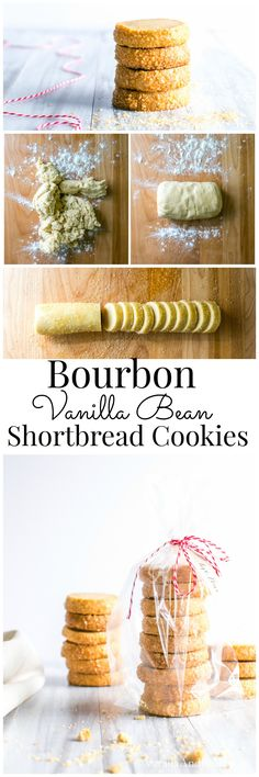 Bourbon and Vanilla shine in this buttery shortbread treat. Easy to make, and makes a fabulous gift! | Vanilla And Bean