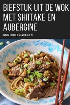 Sashimi, Asian, Eggplant, Stuffed Mushrooms, Good Food, Food Porn, Beef, Healthy Recipes, Desserts