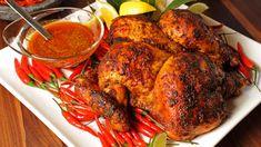 Poulet piri-piri du maître du grill Bbq Grill, Barbecue, Grilling, Confort Food, Piri Piri, Tandoori Chicken, Chicken Curry, Chicken Recipes, Cooking Recipes