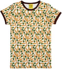 Duns Sweden s/s tee - Carrot Retro Baby Clothes - Baby Boy clothes - Danish Baby Clothes - Smafolk - Toddler clothing - Baby Clothing - Baby clothes Online