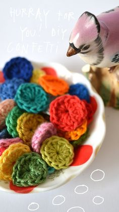 hurray-for-you-crochet-confetti bags tutorial - choose language in the drop down menu on the right