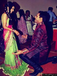 Real coupleKhushboo and Tarun. Read their real wedding story on Shaadimagic.ComReal Wedding - Real Couple- Shaadimagic- wedding Story - Indian Wedding