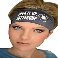 Binmer(TM) Ladies Letter Sports Yoga Sweatband Gym Stretch Headband (Gray) * You can find out more details at the link of the image. (This is an affiliate link) #PersonalCareProducts