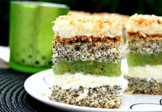 kiwi i agrestu (lub kiwi i Krispie Treats, Rice Krispies, Polish Recipes, Polish Food, Kiwi, Food And Drink, Sweets, Blog, Kuchen