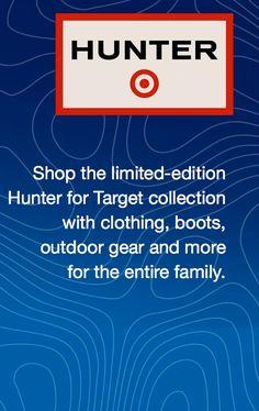 Hunter for Target, hunter boots, hunter clothing