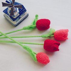 (4) Name: 'Crocheting : Tulip Crochet Flower