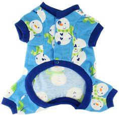 Holiday Dog Pajama - Dogs Pajamas, Pets Pajamas, Dog Fleece Sleepwear, Doggie PJs, Dog Holiday, Christmas Puppy Clothes, Pet Boutique