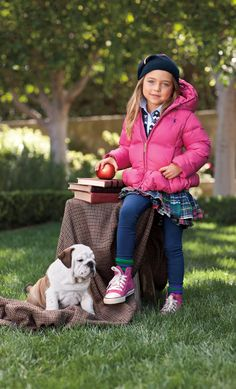 """"""" Ralph Lauren Childrenswear Fall 2012 """" Classic outerwear in bright, playful colors will keep your little ones warm and looking their best. Cute Outfits For Kids, Cute Kids, Little Girl Fashion, Kids Fashion, School Fashion, Ralph Lauren Kids, Girl Closet, Lady And The Tramp, Winter Kids"""