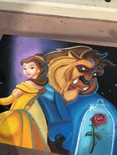 Epcot,Orlando Epcot, Orlando, Princess Zelda, Disney, Painting, Fictional Characters, Art, Beauty And The Beast, Art Background