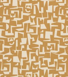 Home Decor Upholstery Fabric-Crypton Modernica-Yellow