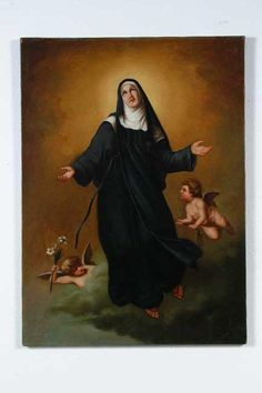 St Rita in heaven! Pray 4 us!