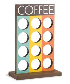 Three-Column Coffee Capsule Holder   zulily
