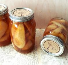 This homemade vanilla bourbon pears canning recipe is a delicious way to preserve your homestead fruit harvest and stock your food pantry shelves. While you can always can pears the usual way in heavy or light syrup, put them in pies or just eat them right out of the jar, this recipe is like no other you may have
