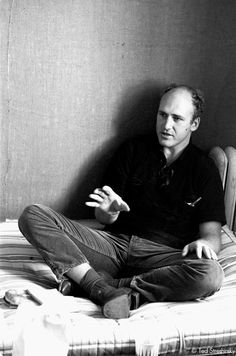 """""""You're either on the bus or off the bus"""" Kesey. The man. The trailblazer. I look up to him as one of my influential idols. And Oregon grown! How could you not love him? Ken Kesey, Tom Wolfe, Movie Sites, Beat Generation, Book Writer, Beatnik, Fashion Designer, Important People, Celebrity Portraits"""
