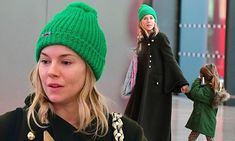 Make-up free Sienna Miller jets into NYC with daughter Marlowe