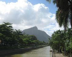 Corcovado and the Jardim d'Alah, © 2010 Wren M. Allen