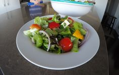 How to make Greek Salad Greek Salad, Lettuce, Cobb Salad, Feta, Stuffed Peppers, Dishes, How To Make, Recipes, Stuffed Pepper