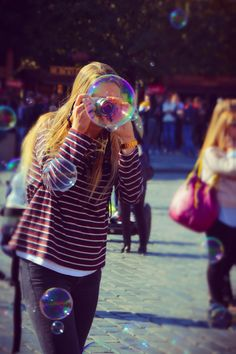 Chasing Bubbles In Old Town Square Prague by Leopard Print Photography Prague (6)