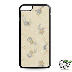 Blue Orange Floral iPhone 6 Plus | iPhone 6S Plus Case