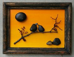 Check out this item in my Etsy shop https://www.etsy.com/listing/449954902/pebble-art-birds-on-a-branchtree-on-a