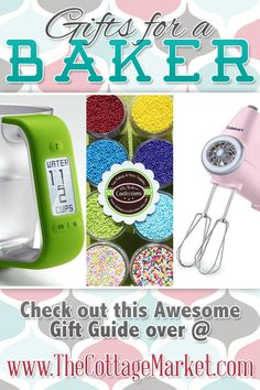 Gift Guide for a Baker Fun Ideas for all!