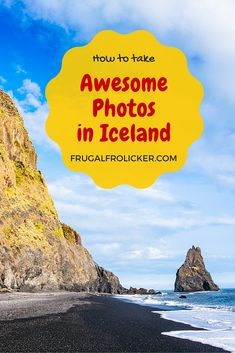 How to take awesome Iceland photos. #travel #iceland / / / / / Check out more travel photos and blog posts on my travel blog, frugalfrolicker.com