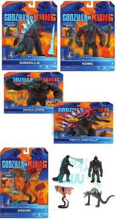 All Godzilla Monsters, Godzilla Toys, King Kong Vs Godzilla, Kong Toys, Concept, Deviantart, Skull, Activity Toys, Happy Fathers Day
