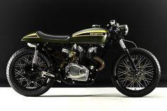 Honda CB450 1973 By Hangar Clycleworks