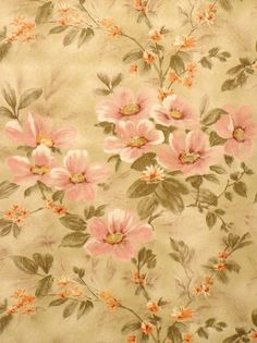 Original retro vintage wallpaper from dead stock. Available in different colors. 60s Wallpaper, Flower Wallpaper, Kitchen Wallpaper, Bedroom Wallpaper, Vinyl Wallpaper, Indigo Prints, Floral Prints, Floral Patterns, Floral Retro