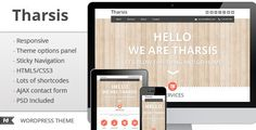 Tharsis - Responsive One Page Portfolio Theme by FinalDestiny   About Tharsisis a single responsive portfolio wordpress theme perfect to promote your work or your business. Is compatible with