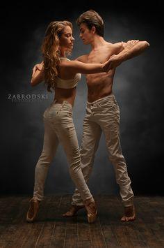 """Tango"" - Sofia Usin and Javier Conejero - Photographer Ivan Zabrodski"